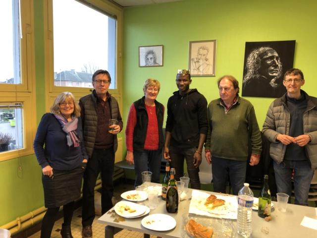Le café polyglotte de Calais tire les rois ce 12 janvier 2019 693eab10