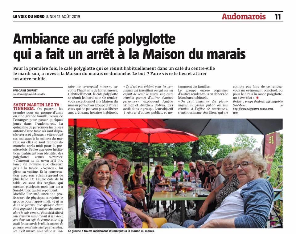 Les polyglottes  fêtent Noêl à la maison du marais le 15 Décembre 2019 Cc90b610