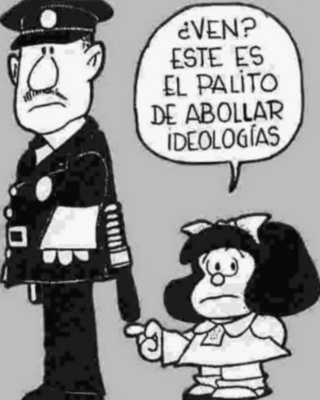 Mafalda y su padre Quino D070b310