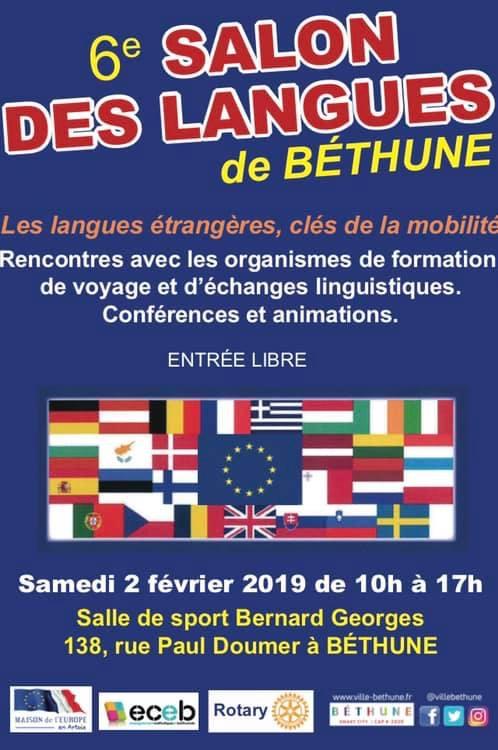 Salon des langues de Bethune le samedi 2  Fevrier E2ed1a10