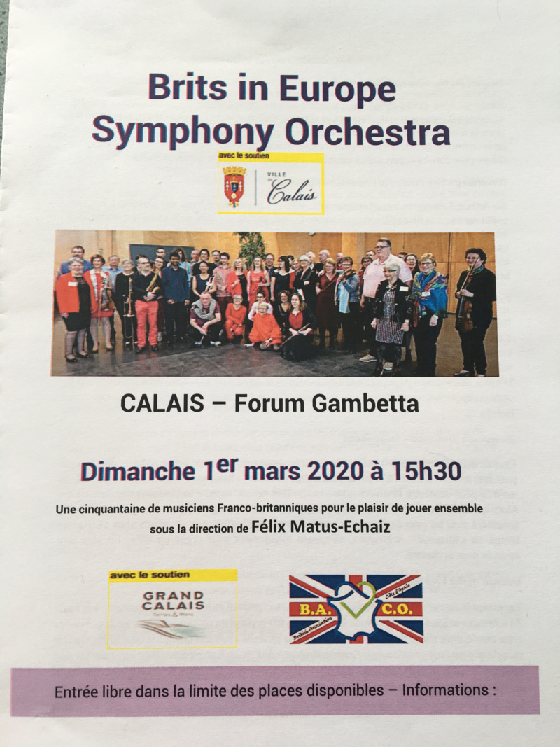 Brits in Europe : symphony orchestra Eedd0110
