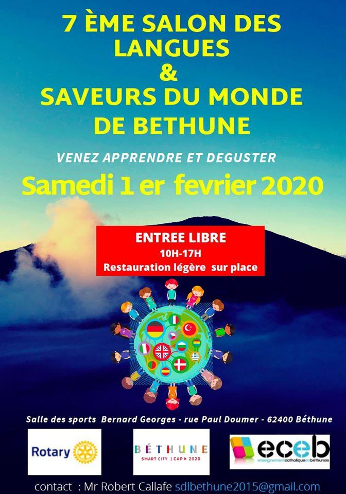 Salon des langues de Béthune le samedi 1er Février 2020 Salon_11