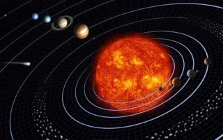 come si é formato il nostro sistema solare ? Systzo10