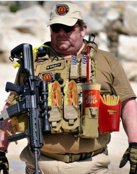 71 % des jeunes américains sont trop gros pour pouvoir prétendre à entrer dans l'armée 6ca7ac10