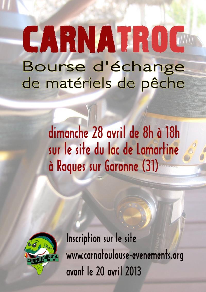 Vide grenier toulousain : carnatroc Affich10