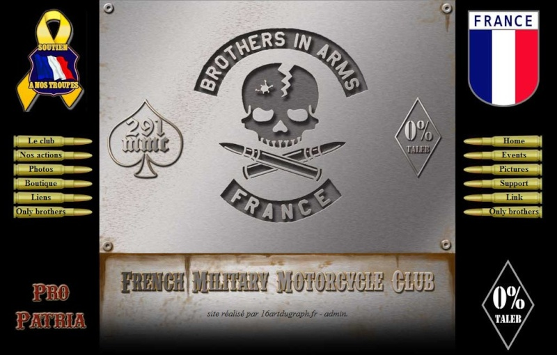 Site officiel des Brothers In Arms MMC 07032411