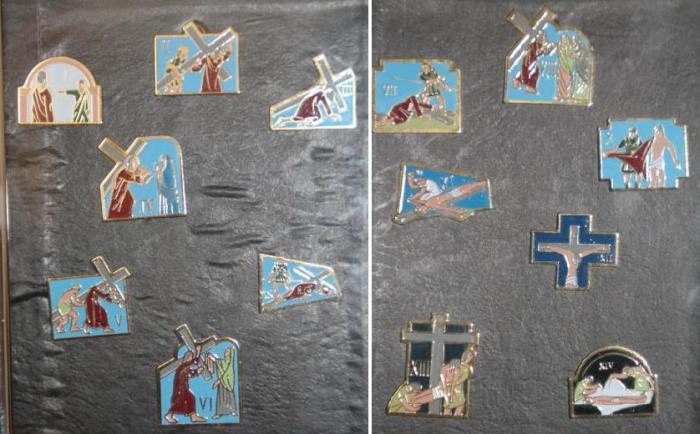 Chemin de croix portatif Josett12