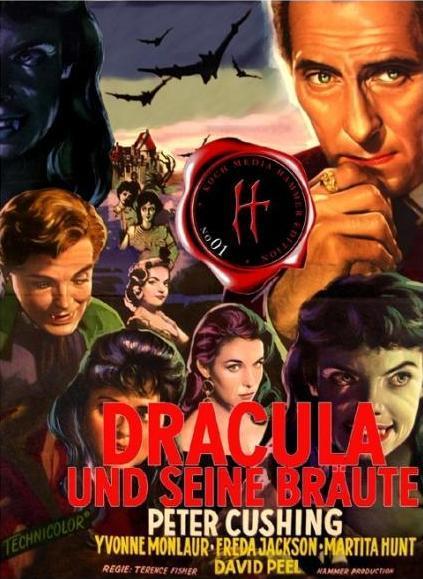 """Dracula und seine Bräute"" ( The Brides of Dracula, Großbritannien, 1960 ) Dracul11"