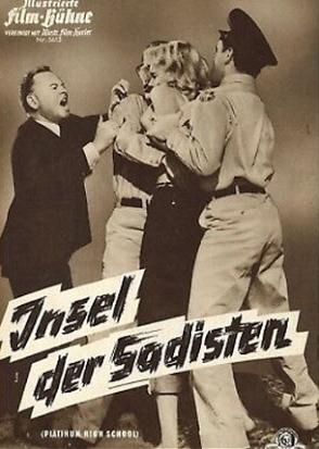 """Insel der Sadisten""  (  Platinum High School, USA, 1960 ) Platin10"