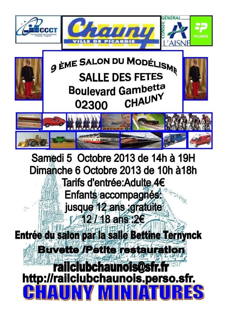 5 & 6 octobre 2013 : 9eme salon du modèlisme de Chauny (Aisne) Affich10