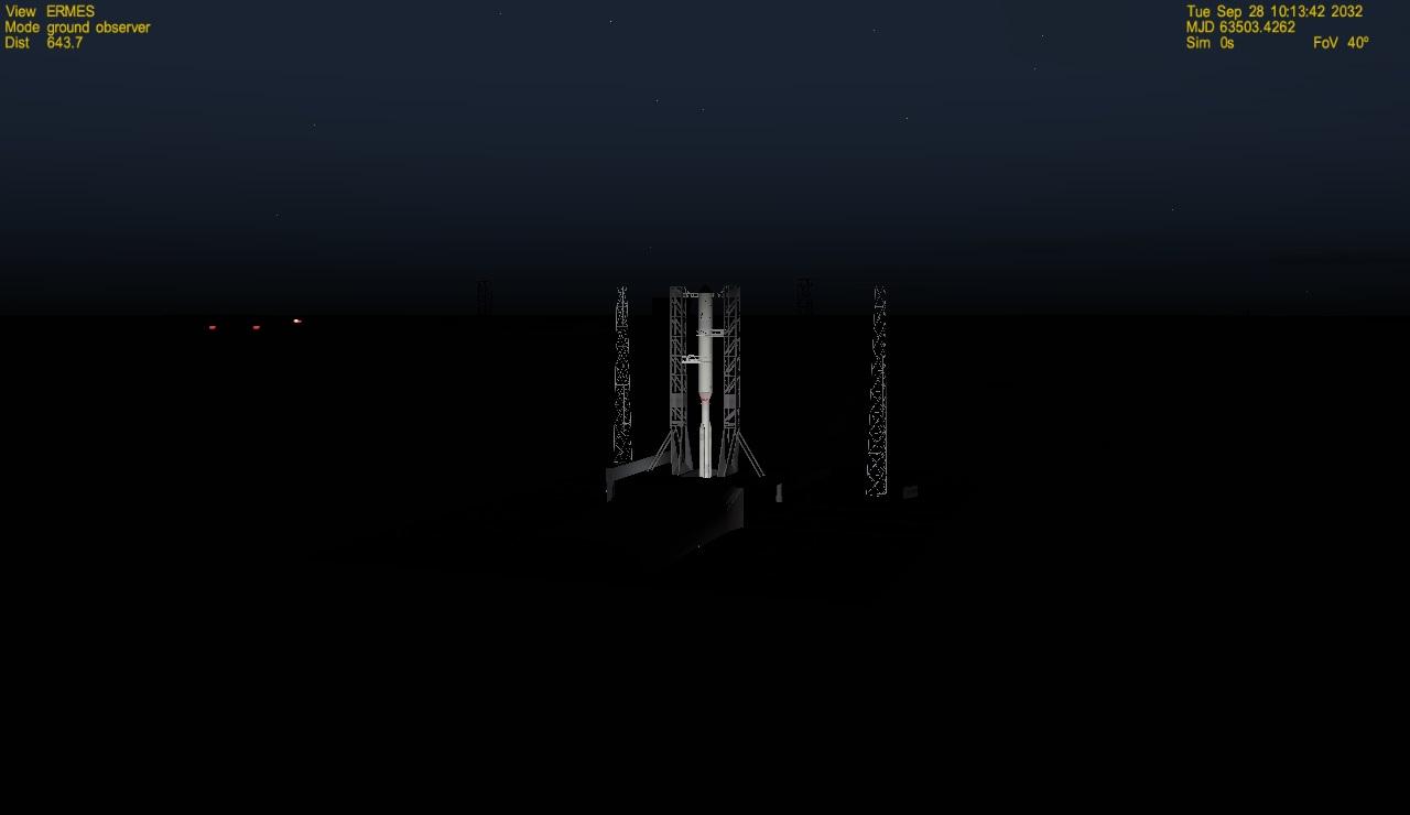 Ermes Space Launchers-------sviluppo  Test10