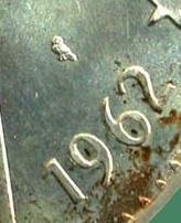 piece 5 dinars argent Chouet10