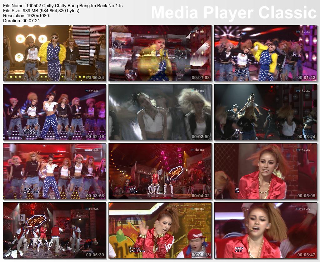 [100502] Hyori - CCBB, I'm Back, Win Mutizen @ SBS Inkigayo 10050210