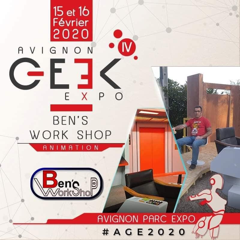 Avignon Geek Expo 15 et 16 février 2020 84474810