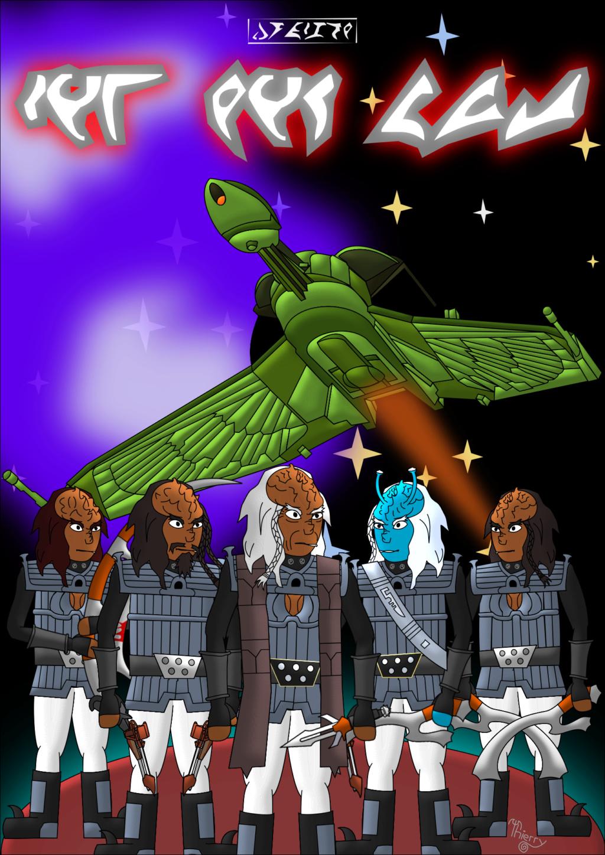 Ma bande dessinée en klingon Couver11
