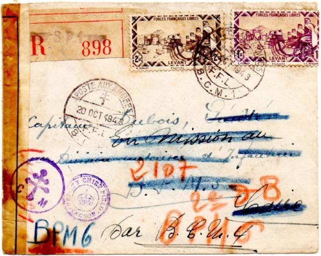 ENVELOPPE F.F.L. du B.P.M.6 de juin 1943 1943_l10
