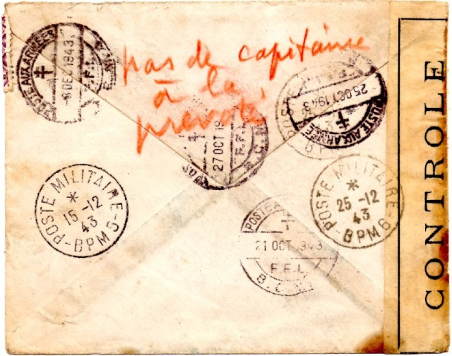 ENVELOPPE F.F.L. du B.P.M.6 de juin 1943 1943_l11
