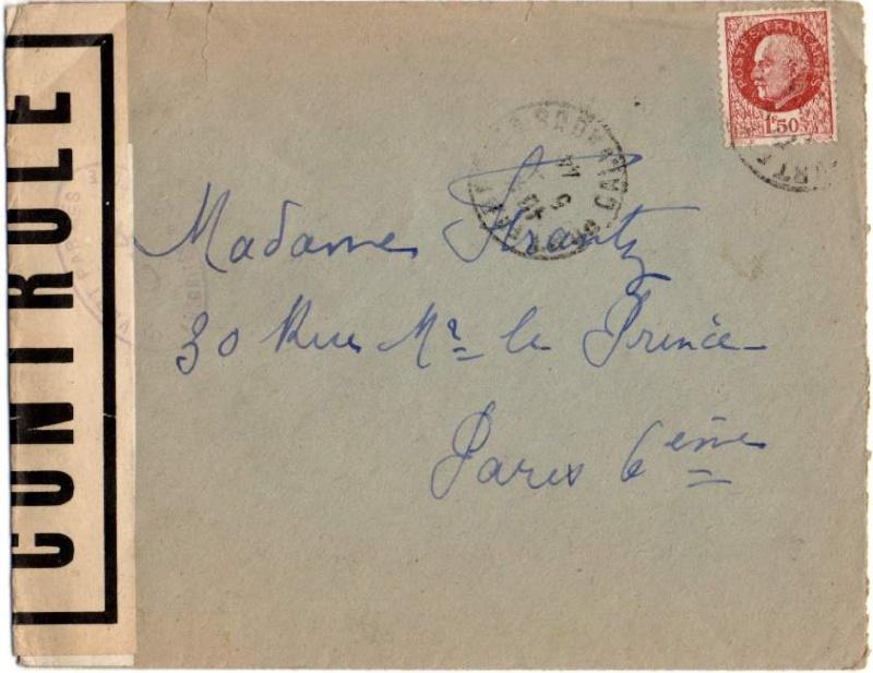 1944 une lettre contrôlée par la censure 1944_c10