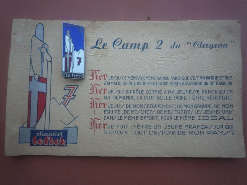Les chantiers de la jeunesse française / CJF - Page 4 01011