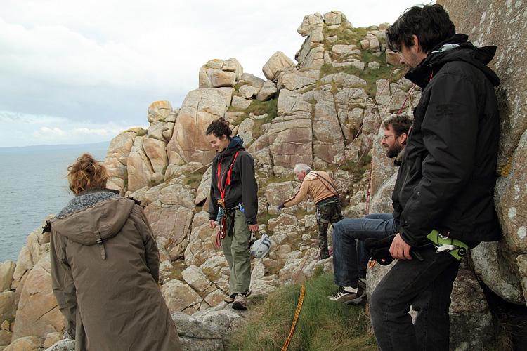 Suivi 2011 du Crave à bec rouge (Pyrrhocorax pyrrhocorax) en Bretagne Escala26