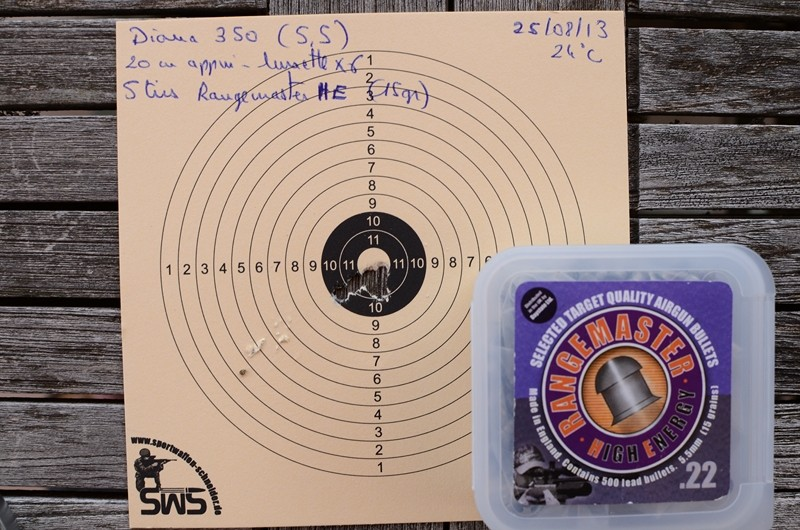 Diana 350, Webley Patriot, Hatsan 95... Dsc_9310