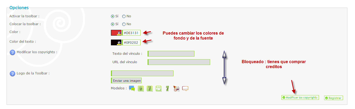 Toolbar y notificaciones : ¿Como funcionan? 211