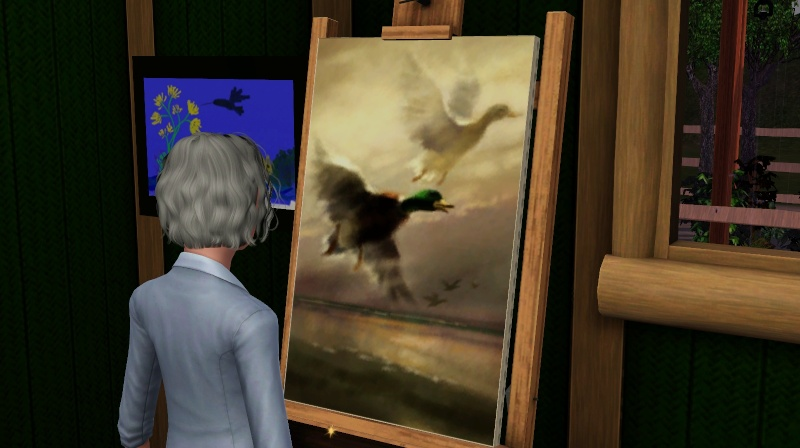 Brush Strokes - What's your Sim Painting? Screen30