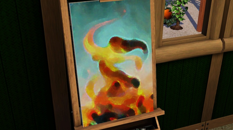 Brush Strokes - What's your Sim Painting? Screen31