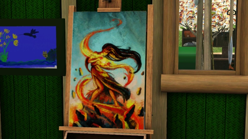Brush Strokes - What's your Sim Painting? Screen35