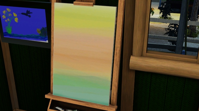 Brush Strokes - What's your Sim Painting? Screen49