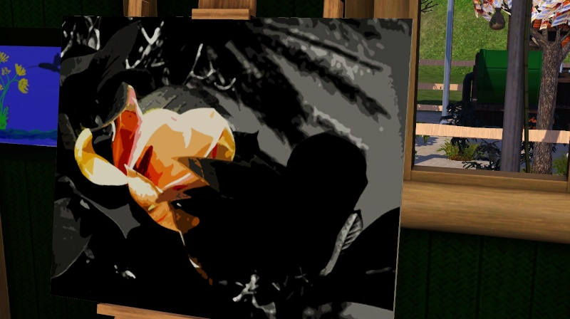Brush Strokes - What's your Sim Painting? Screen50