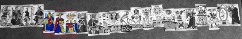Le mystere du tarot de marseille - Page 2 Croise10