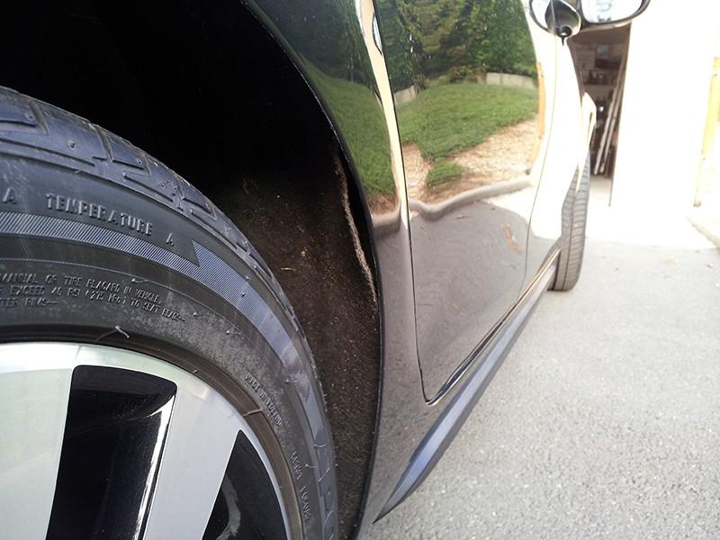Remplacement du cuvelage de la roue arrière droite 20130911