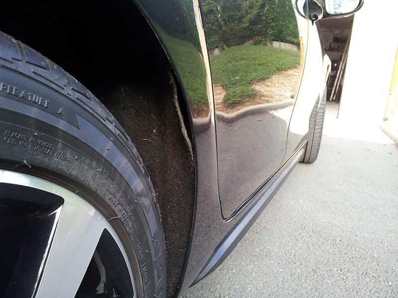 Remplacement du cuvelage de la roue arrière droite 20130912