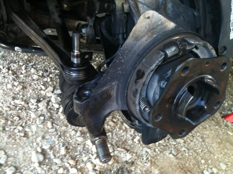 Remplacement roulement de roue sur 986 1010