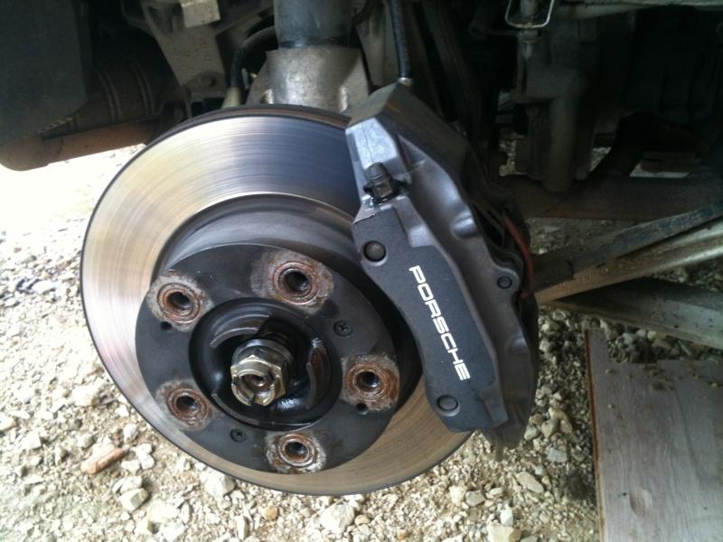 Remplacement roulement de roue sur 986 110