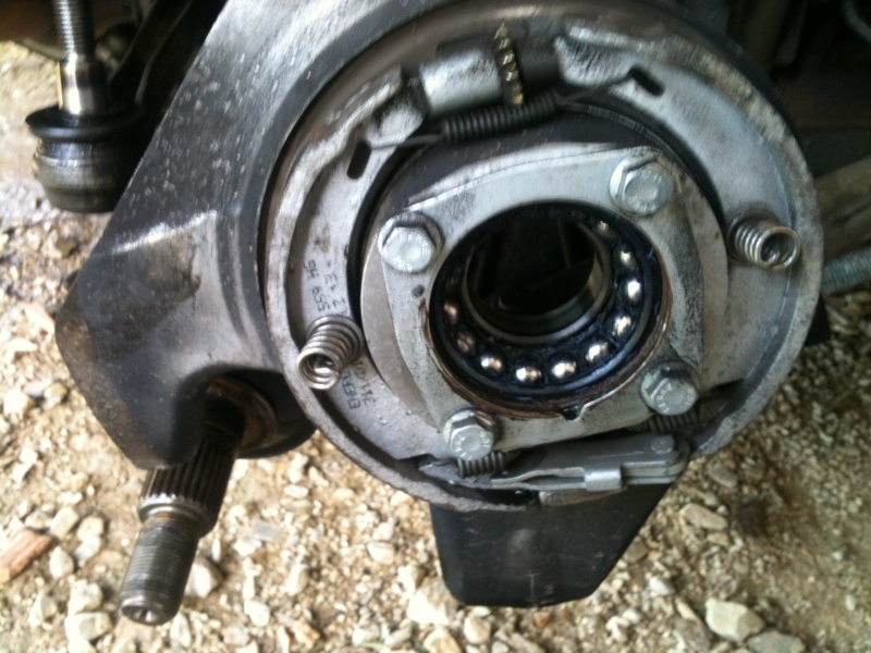 Remplacement roulement de roue sur 986 1210