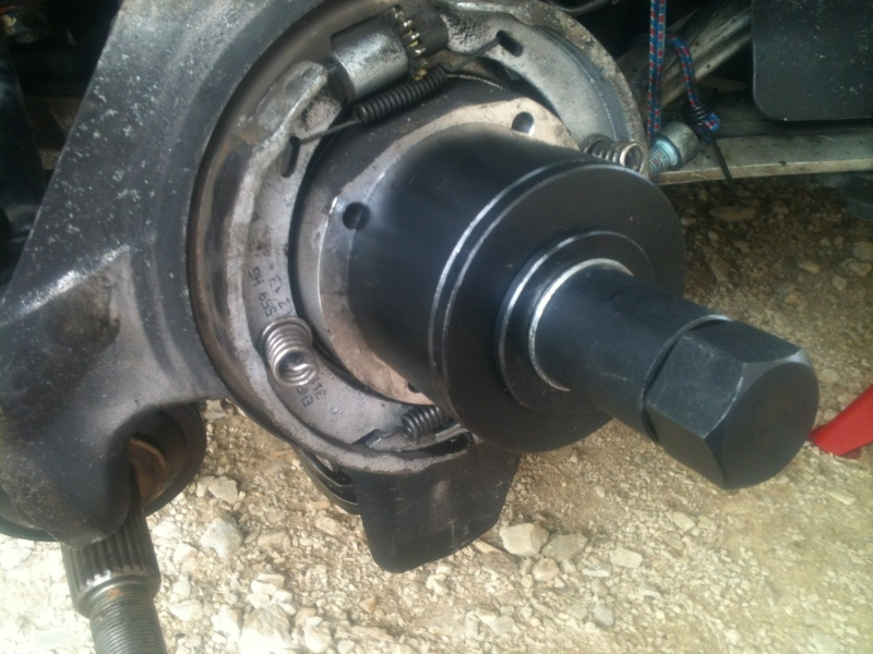 Remplacement roulement de roue sur 986 1810