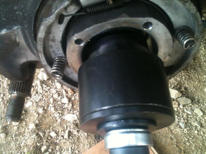 Remplacement roulement de roue sur 986 2210