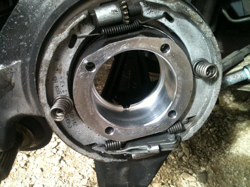 Remplacement roulement de roue sur 986 2310