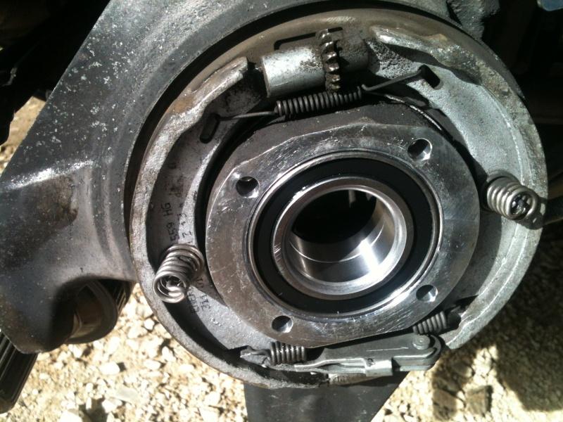 Remplacement roulement de roue sur 986 2410