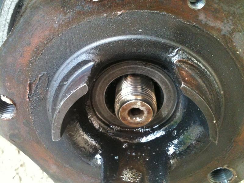 Remplacement roulement de roue sur 986 310