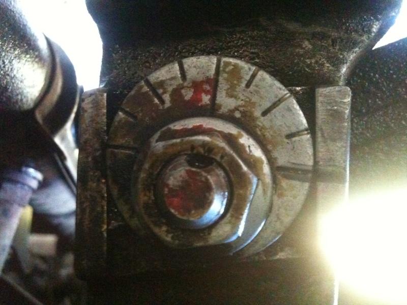 Remplacement roulement de roue sur 986 710