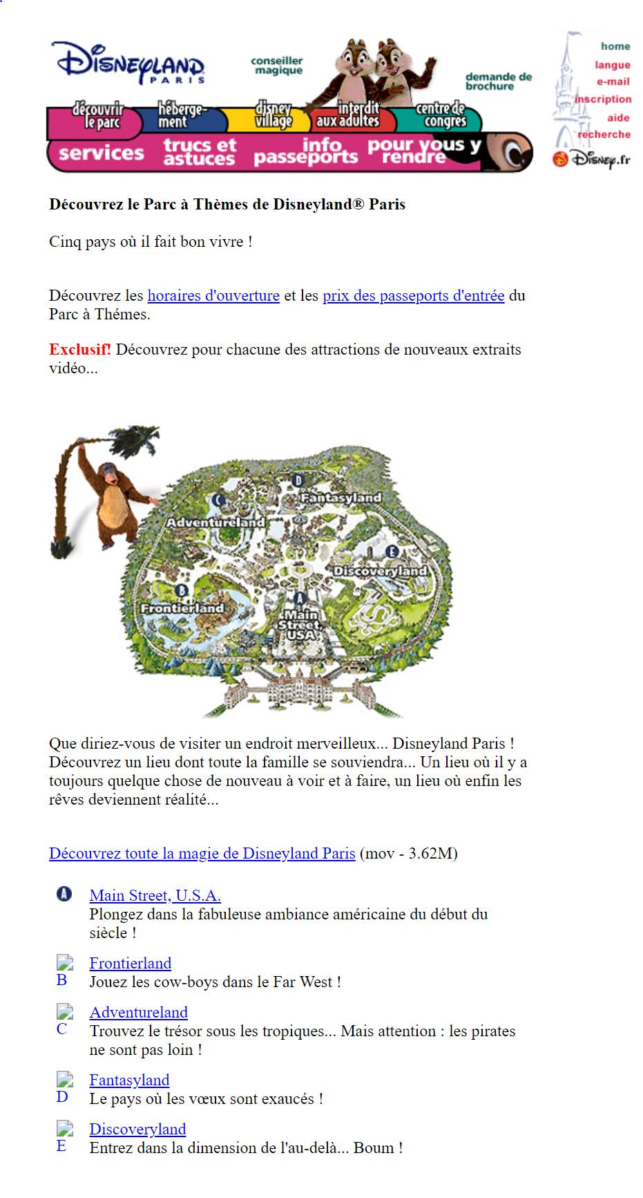 Création du site de Disneyland Paris Captur10