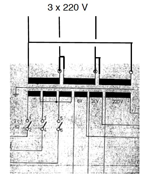 Maho 600 transformateur Maho11