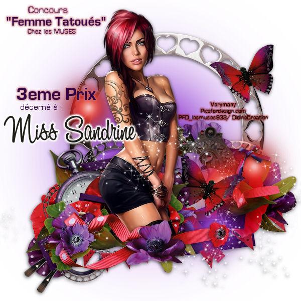 """Résultat Concours """" Femme tatoués """" 313"""