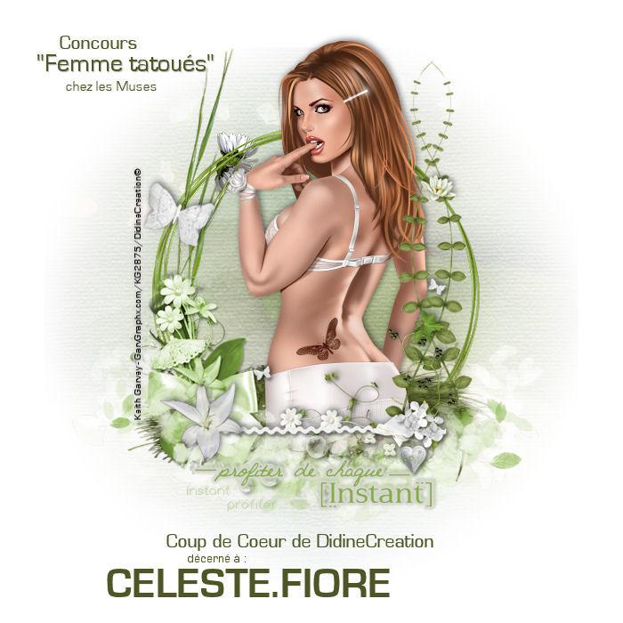 """Résultat Concours """" Femme tatoués """" Coupde13"""