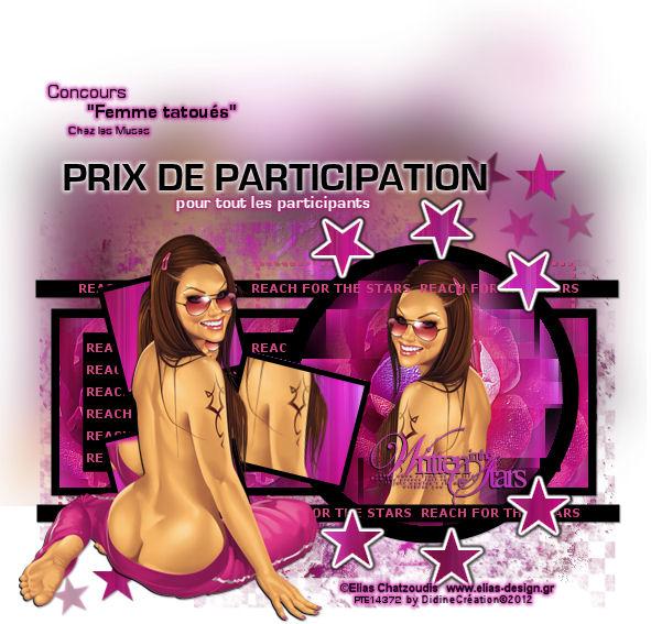 """Résultat Concours """" Femme tatoués """" Prix_d12"""