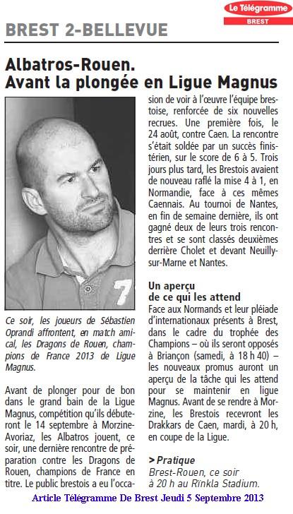 Articles Sur Les Albatros 2013 - 2014 Articl22