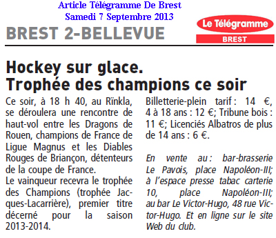 Articles Sur Les Albatros 2013 - 2014 Articl26